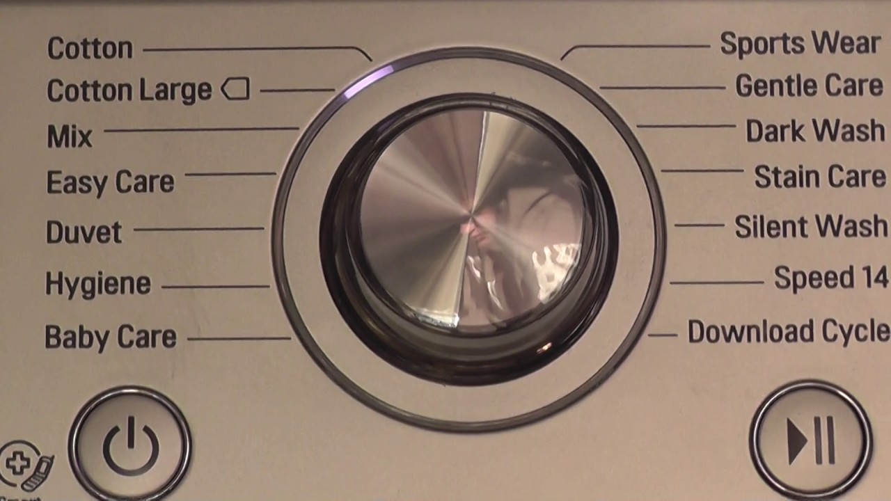 LG 6 Motion Washer, Cotton 30 cycle with Turbo Wash 1/3