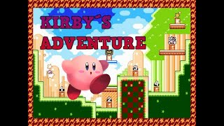 Kirby´s Adventure Gameplay - Level 1 Vegetable Valley - 100%