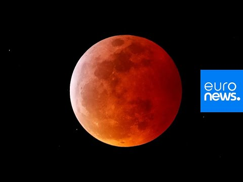 Angie Ward - Images Of The Blood Moon From Around The World!