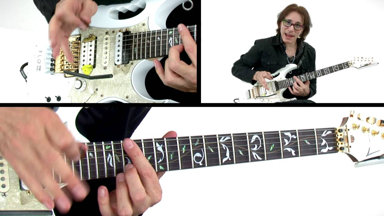 Steve Vai Guitar Lesson - For The Love of God - Alien Guitar Secrets: Passion & Warfare