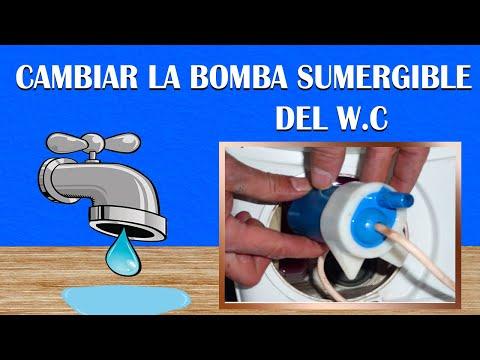 4-Cambiar la bomba sumergible de nuestro Wc