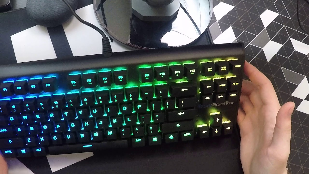 b8cdc54f0e0 SteelSeries Apex M750 TKL Keyboard Unboxing and Impressions - YouTube