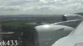The Emirates A380 | Approach and Landing | Auckland International | EK406