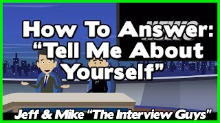 Tell Me About Yourself - Good Answer Relies On Avoiding This #1 Job Interview Trap