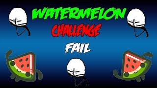WATERMELON CHALLENGE FAIL ( 65 SUBS GRACIAS) CON JAVIER Y JORGE .