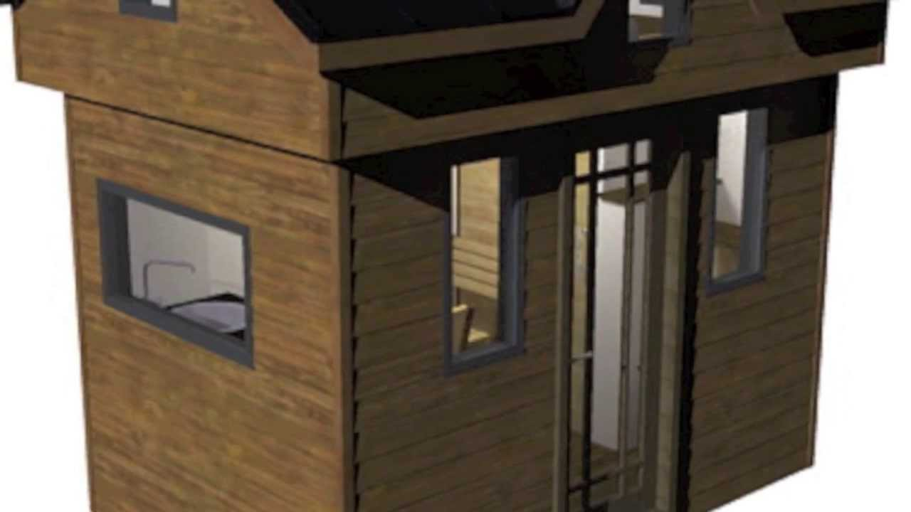 Tiny Home Plans Designs: The Nook Tiny House Design And Plans