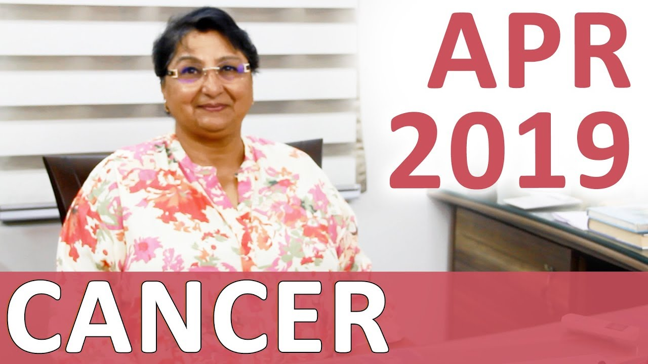 Cancer Apr 2019 Horoscope: Progress in Career With Help From Others -  Finances Are Ignited