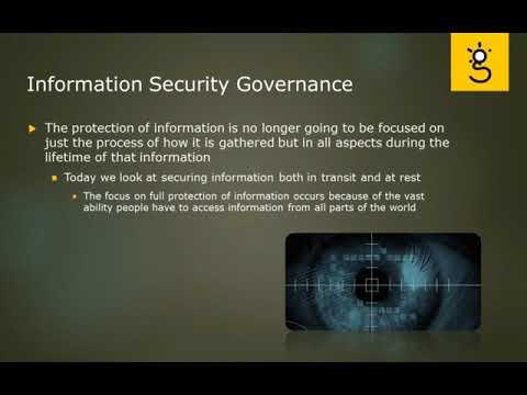 7.Information Security Governance