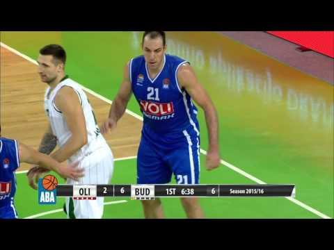 ABA Liga 2015/16, Round 7 match: Union Olimpija - Budućnost VOLI (24.10.2015)