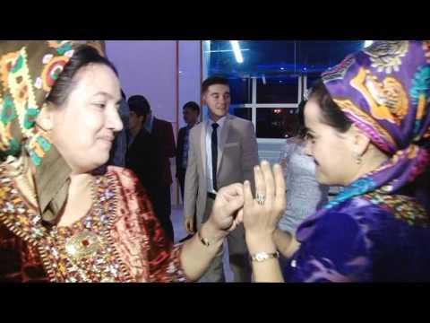 Dovlet & Bagtygul. Turkmen toyy 2017. (gyz yer) 1 часть