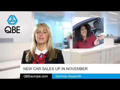 New car sales up in November