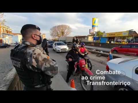 Operação fronteira com Uruguai para coibir crimes transfronteiriços.