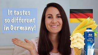 FOODS THAT TASTE DIFFERENT IN GERMANY 🇩🇪 New Zealand expat