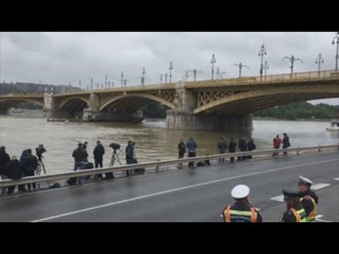 Poucas esperanzas de atopar vivos os 21 desaparecidos no naufraxio de Budapest
