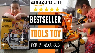 *new* Amazon Bestseller Toy For 3 Year Old Boy | Amazon Tools Toy Review