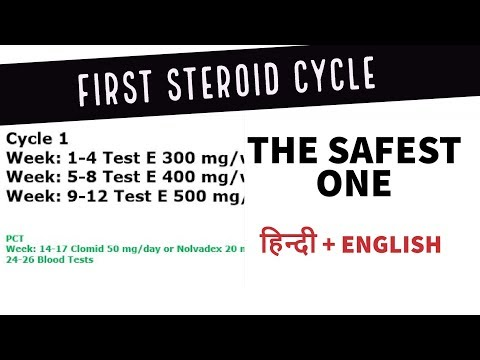 What should be your first cycle? What PCT dosages? - YouTube