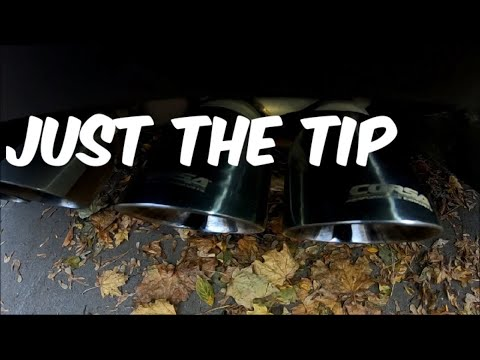 How To Clean Your Exhaust Tips Fast !!!