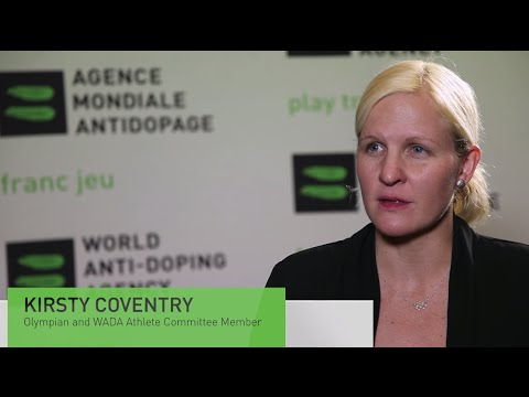 WADA Talks with Kirsty Coventry