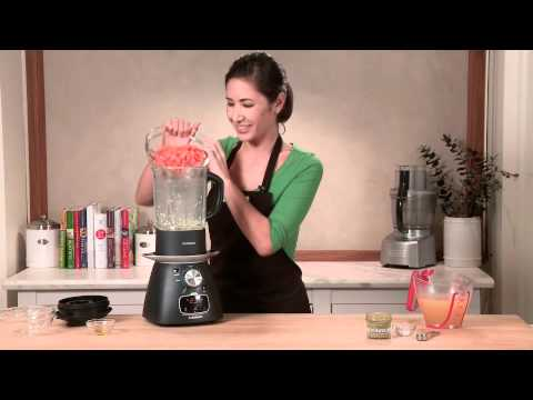Making  Spiced Carrot Soup With A Cuisinart Soup Maker & Blender