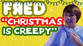 """Christmas is Creepy"" Music Video - Fred Figglehorn"