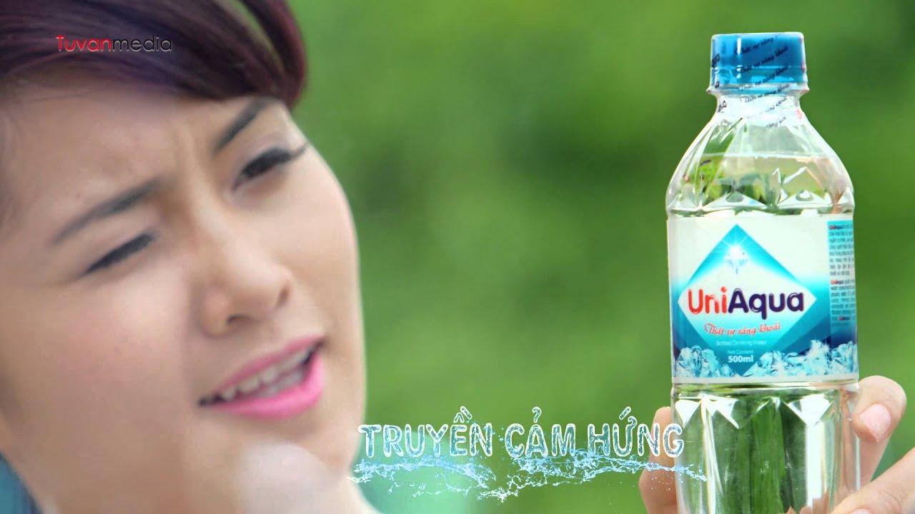Công ty làm phim quảng cáo – TVC Nước tinh khiết UniAqua – Tứ Vân Media