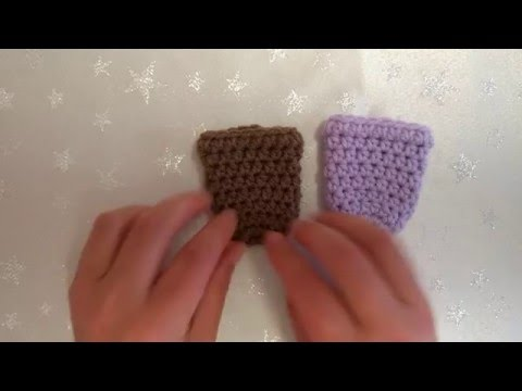 How to Crochet My Easy Chair Gliders/Chair Socks US and UK terms