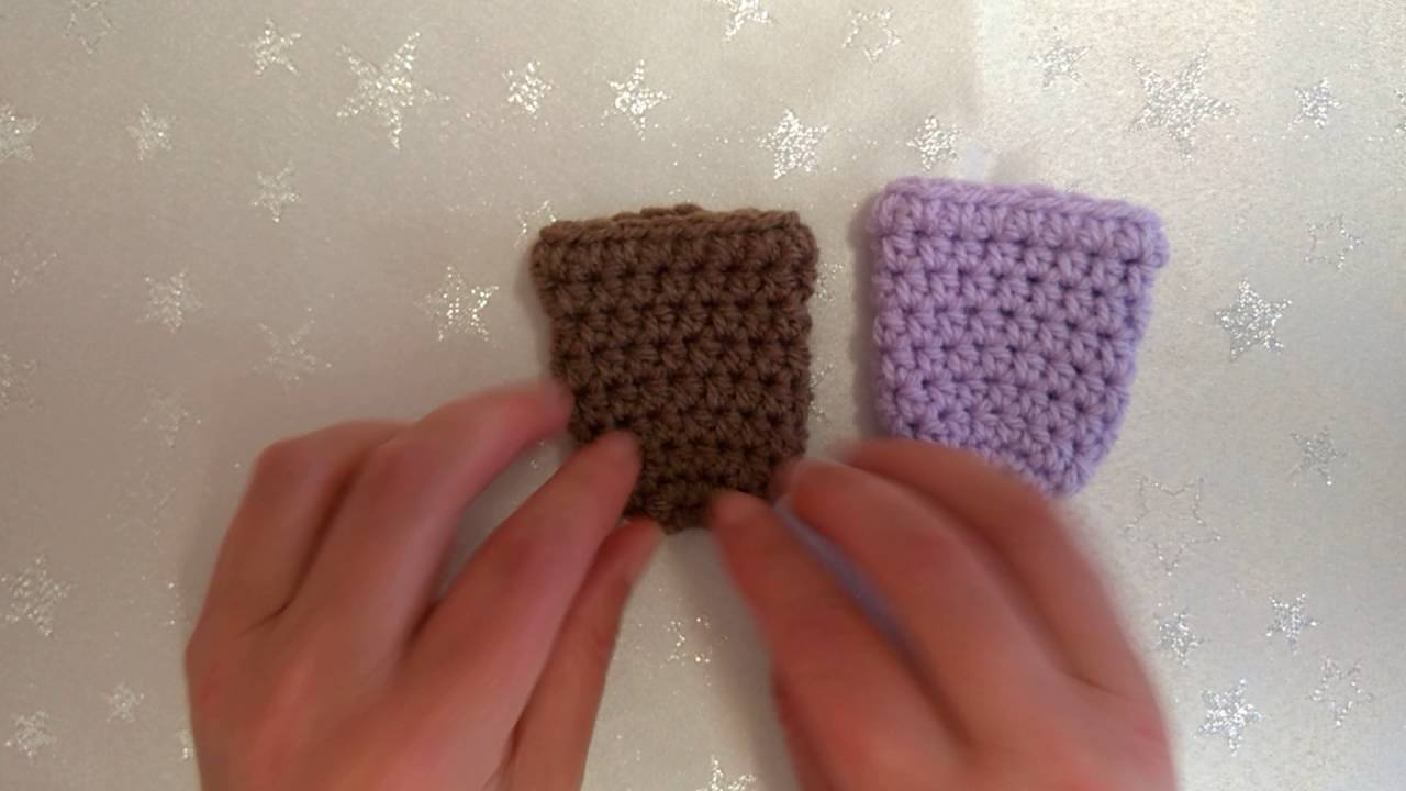 How to Crochet My Easy Chair Gliders/Chair Socks US and UK terms ...