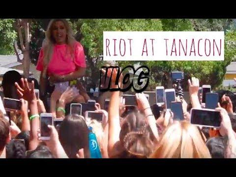 A Riot At Tanacon//VidCon Day 3