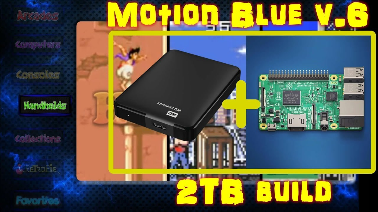 How To Build the Ultimate Motion Blue Retropie Image - 20,000+ Games