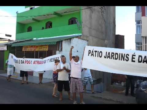 PDG realty - Manifestação do Pátio Jardins em 2012-02-11