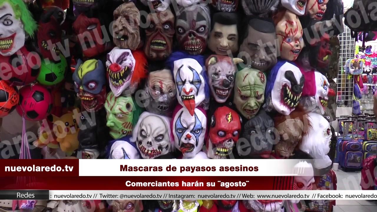 Mascaras de payasos asesinos - YouTube d3680e17433d
