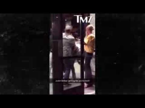 Justin Bieber briga com homem e leva a pior em hotel nos Estados Unidos