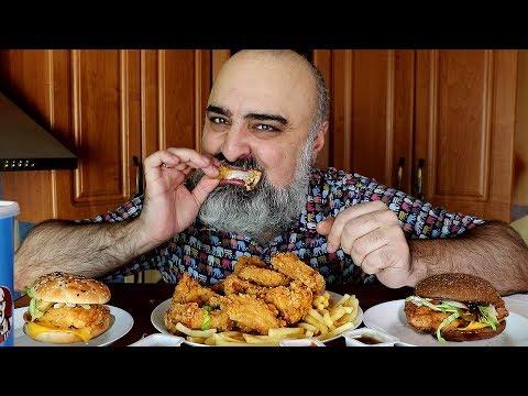 KFC-ОБЖОР!!! 16 КРЫЛЬЕВ и 2 БУРГЕРА!!!   БОГАТСТВО и СЕКС!!!   18+   Жру.ру#212   ASMR MukBang