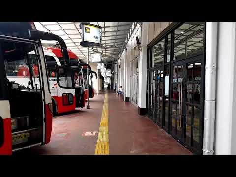 Walking tour of Seoul - Express Bus Terminal