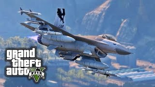 GTA V PC E16 - General Dynamics F-16 Fighting Falcon