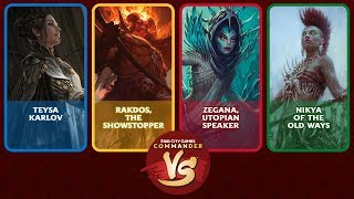 Commander VS S14E3: Teysa VS Rakdos VS Zegana VS Nikya [EDH]