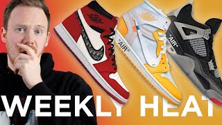 OFF WHITE X NIKE The 20 \u0026 Chicago DIOR Air Jordan 1s: WEEKLY HEAT
