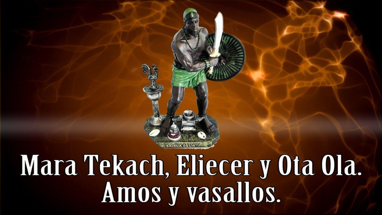 Mara Tekach, Eliecer y Ota Ola  Amos y vasallos. Cuba