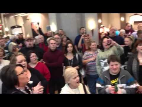 Christmas Flash Mob Sooner Mall, Norman OK.
