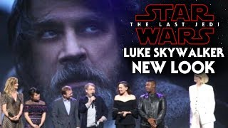 Star Wars The Last Jedi Exciting New Look Of Luke Revealed! & More