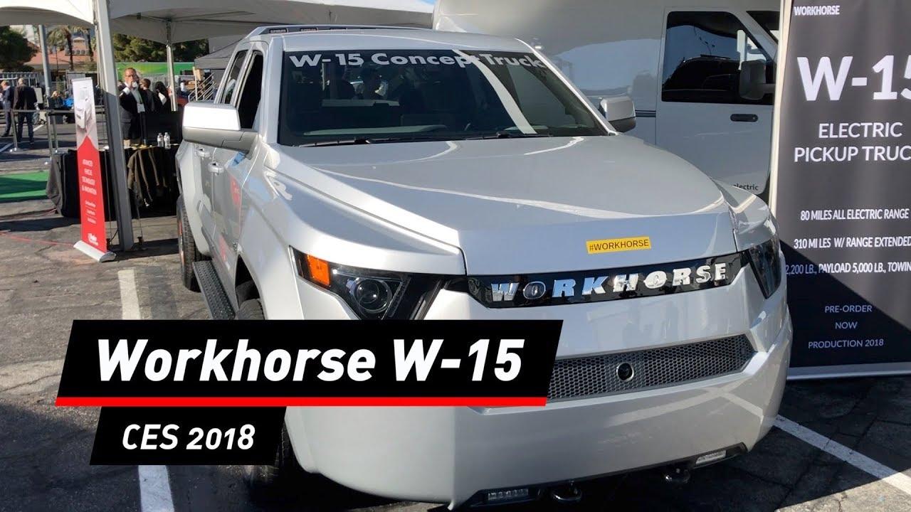 Workhorse W-15: Elektrischer Pick-up-Truck aus den USA