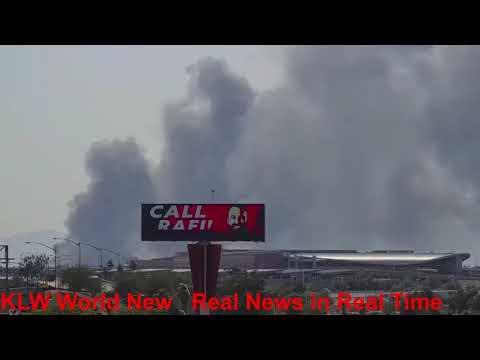 Major Fire in Phoenix AZ. Live Coverage, Live Viral News