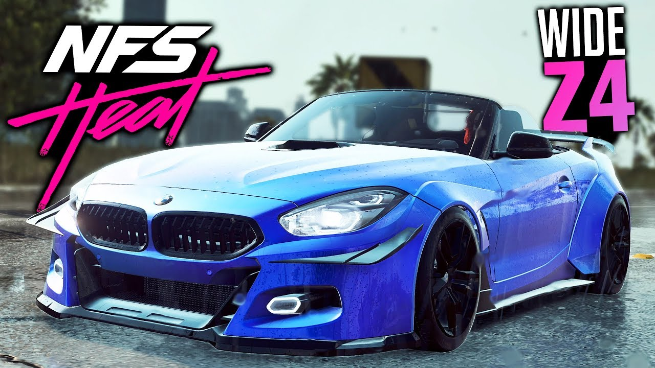 Need For Speed Heat Gameplay Bmw Z4 Quot Supra Quot Widebody