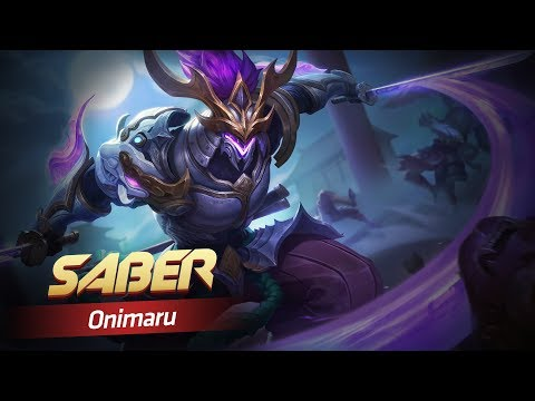 SKIN EPIC MỚI SABER - ONIMARU | MOBILE LEGENDS BANG BANG VIỆT NAM thumbnail