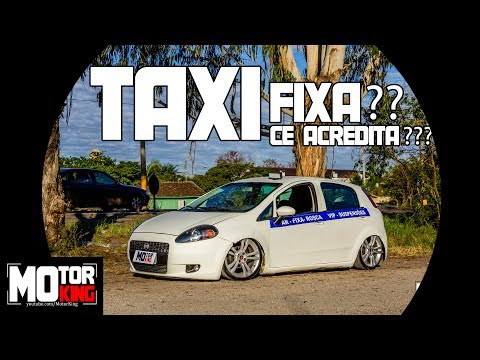 Fiat Punto | TAXI rebaixado na FIXA??? | Cê Acredita???