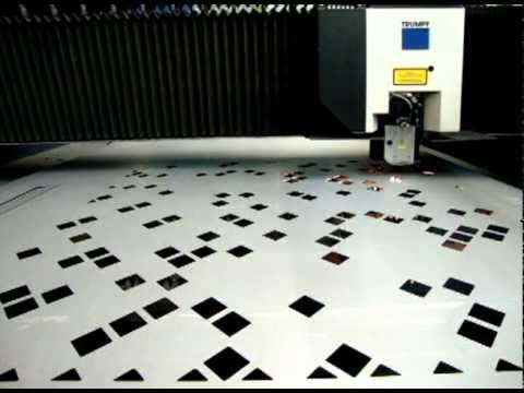 Willems Baling Equipment Laser Cutting Machine - Trumpf