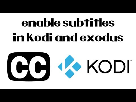 How To Add Subtitles to Kodi and Exodus on Your Amazon Fire TV Stick | Very Easy (2017)