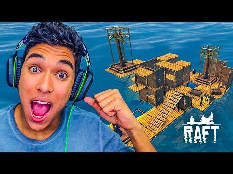 REFORMA NA CASA DO BARCO !! - Raft [#09]