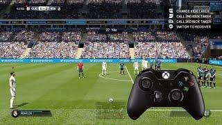 FIFA 15 | Rabona Free Kick Tutorial (Xbox One/PS4)