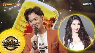 Phản ứng của Ngô Kiến Huy khi nghe thấy tên Khổng Tú Quỳnh | Best Cut Nhạc Hội Song Ca mùa 2
